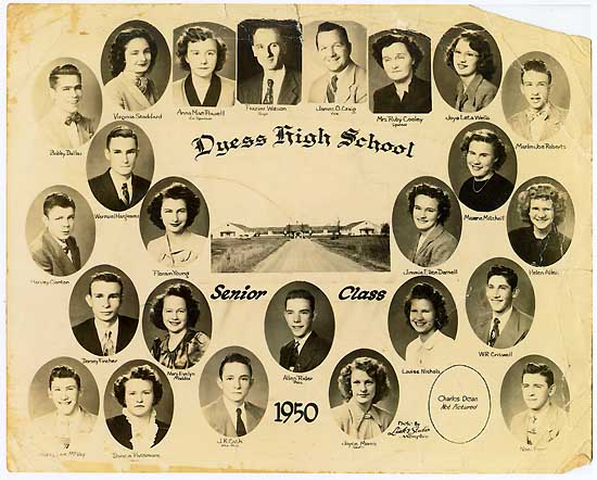 Dyess High School Senior Class of 1950