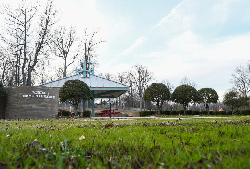 Westside Middle School Memorial Garden